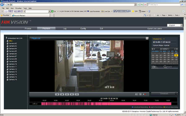 First Alliance Protection Systems Digital Video Security