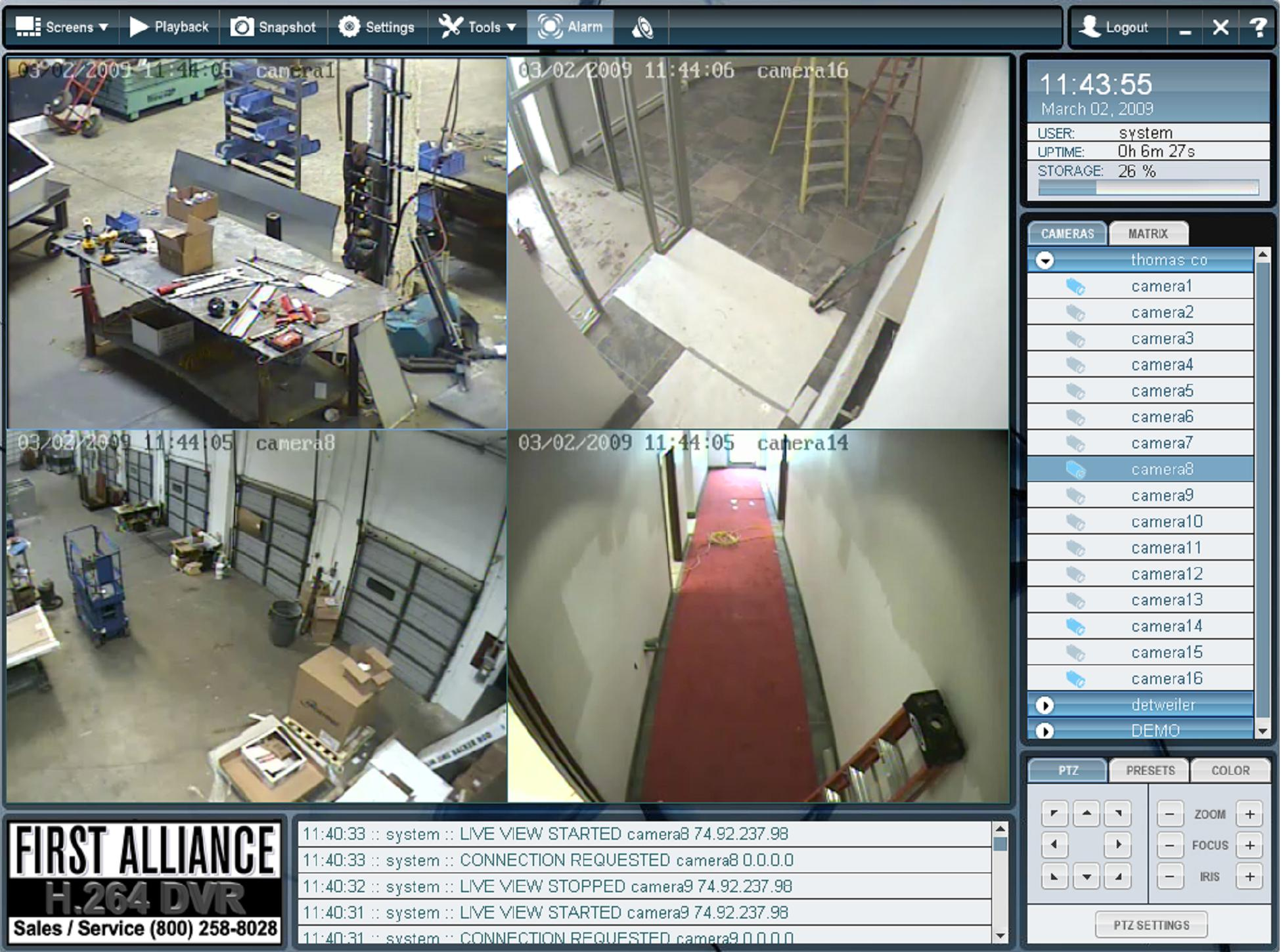 First Alliance Protection Systems, Digital Video Security